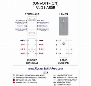 6 Pole Momentary Rocker Switch Wiring Diagram