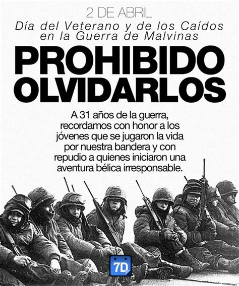 2 de abril dia del veterano y caidos en la guerra de