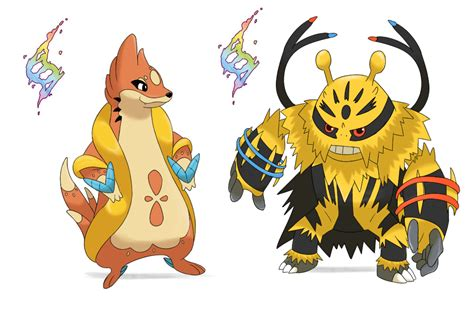 Mega Floatzel And Mega Electivire By Rocket14 On Deviantart