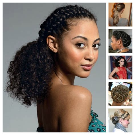 Easy Hairstyles For Mixed by Curly Hair Hairstyles For Mixed Hair Hairs Picture