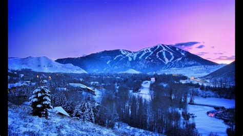 sun valley idaho winter wonderland youtube