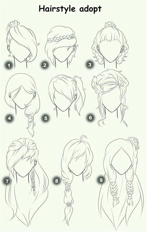 hilft vielleicht manchen bei den haaren zeichnen