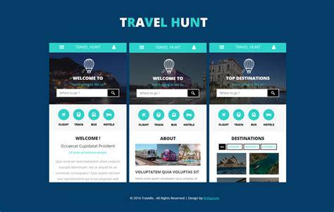 mobile app website templates designs