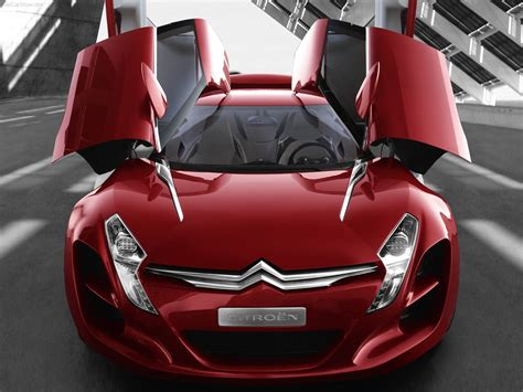 Citroen Car : Citroen C5 Airscape Concept Car Wallpaper