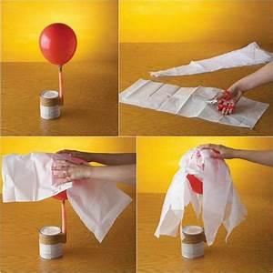 Bastelideen Für Halloween : anleitung basteln mit pappmache und luftballon ~ Lizthompson.info Haus und Dekorationen