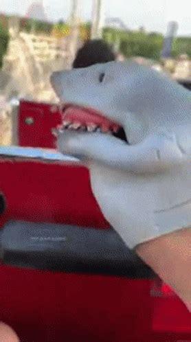 shark puppet shark week gif sharkpuppet sharkweek