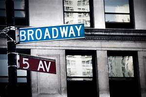 Broadway sign in New York - Wall Mural & Photo Wallpaper ...