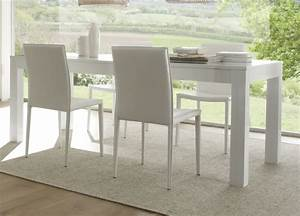 Table Rectangulaire Extensible Salle Manger Table Salle A