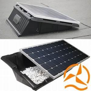 Fixation Panneau Solaire : rails de fixation pour panneaux solaires sur toiture ~ Dallasstarsshop.com Idées de Décoration