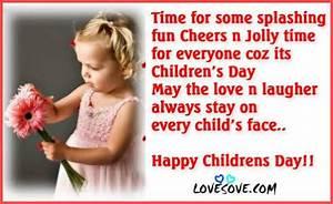 Children's Day Whatsapp Status SMS Shayari Quote Slogans ...