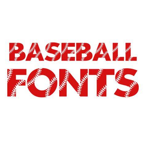 baseball pattern svg cuttable font