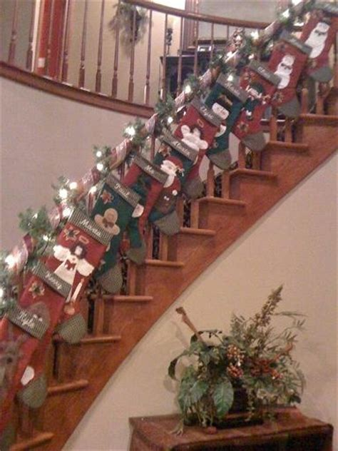 images  christmas stairs  pinterest wooden