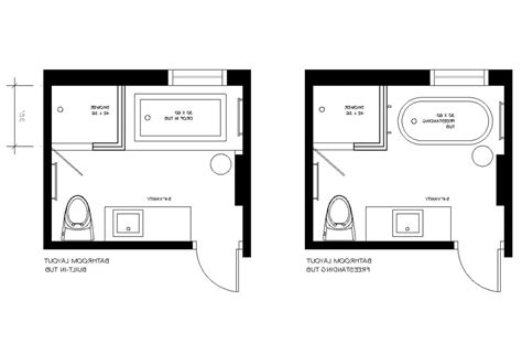 bathroom remodel  master layout dimensions layouts