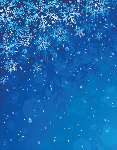 Blue Snowflake Background Images by Free Snowflake Background Vector Free Vector