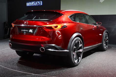 mazda 6 crossover mazda 39 s koeru concept is a sleek looking crossover w
