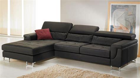 canape d angle cuir noir canapé d 39 angle gauche cuir noir pas cher