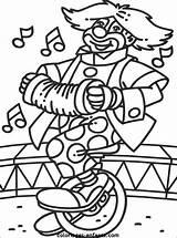 Cirque Colorier Kleurplaten Funambule Rubrics Classique sketch template