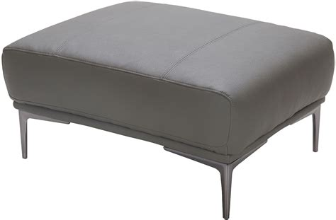 king gray leather ottoman 18250 o j m