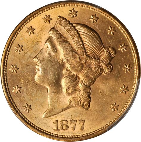 Value of 1877-S $20 Liberty Double Eagle   Sell Rare Coins