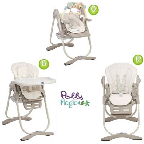 chaise chicco 3 en 1 chicco chaise haute 3 en 1 polly magic aura aura achat