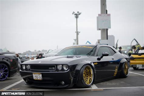 east meets west  liberty walk srt challenger speedhunters