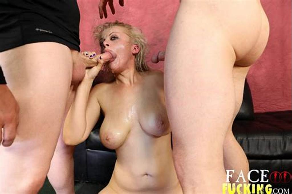 #Big #Tits #Blonde #Whore #Nadia #White #Gets #Her #Face #Stuffed