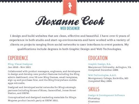 Best Font For A Creative Resume by The World S Catalog Of Ideas