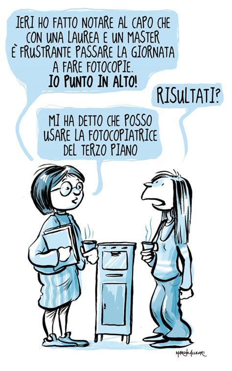 Vignette Divertenti Ufficio Pari Opportunit 224 Vignette Realizzate Da Roberta Sacchi E