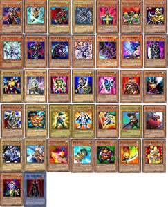 yugioh joey deck deck design and ideas