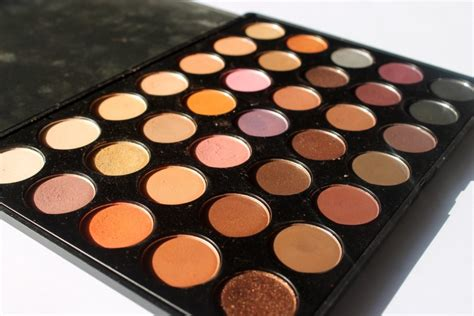 Morphe 35w 35 Color Warm Palette Review, Swatches