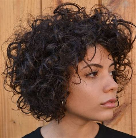 Tight Curls Hairstyles by And Layered Curly Hairstyles
