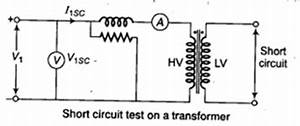 study notes on single phase transformer autotransformer With shortcircuit or impedance test