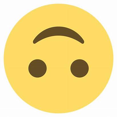 Emoji Upside Down Smiley Face Clipart Emojione