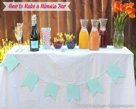 how to make a mimosa how to make a mimosa bar in 3 steps 52 kitchen adventures