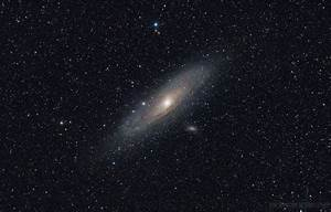 Andromeda Galaxy Seen From Binoculars - Pics about space