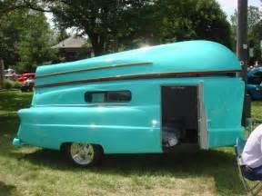 Vintage Camper Trailer Boat