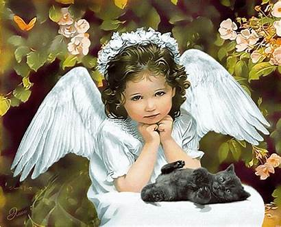 Angel Gifs Child Angels Animated Tenor Christmas