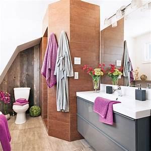 Salle De Bain Idée Déco : decoration simple pour salle de bain ~ Dailycaller-alerts.com Idées de Décoration