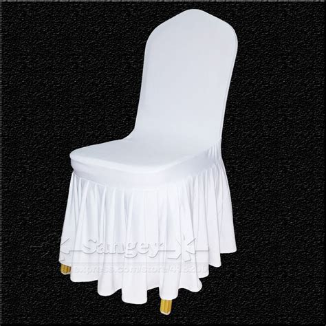aliexpress buy white spandex wedding chair covers