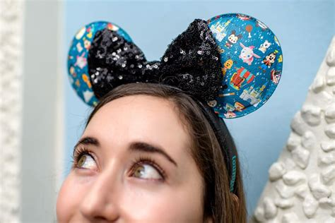 disney parks designer collection minnie ears  loungefly