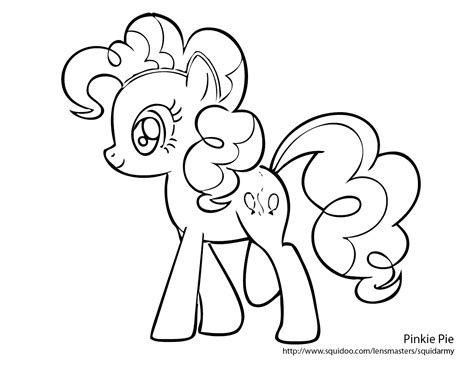pony coloring pages  printable pictures