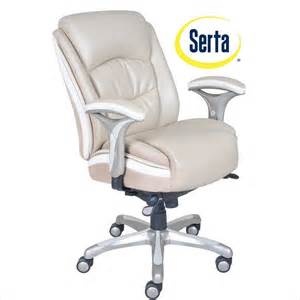serta at home smart layers premium elite manager s chair in serene taupe bonded leather