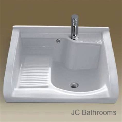 Stainless Steel Laundry Sink With Washboard by Laundry Tub Ceramic Laundry Tub Sink Csl700 Basement