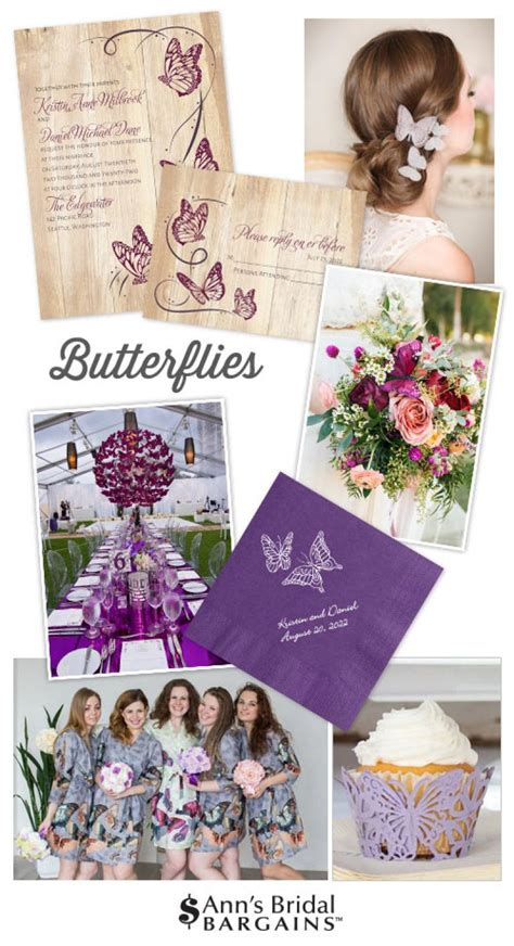 butterflies  images custom wedding