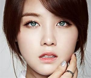 Contact lenses in K-Pop are very common, but it's not ...