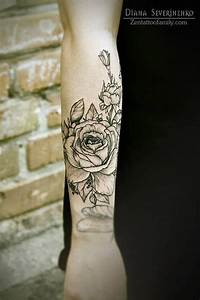 Roses Outer Forearm Tattoo | Tattoo | Pinterest | Outer ...