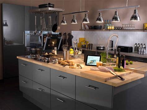 sur la cuisine tout savoir sur l 39 éclairage dans la cuisine leroy merlin