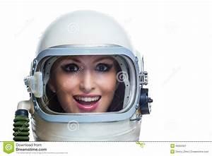 Beauty Astronaut Stock Photo - Image: 45004321