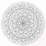 Pencil Mandala Drawing Canada Coloring Deviantart Lou Mandalas Paisley Power Adult Drawings Lineart Printable Enregistree Depuis Guardado Desde sketch template