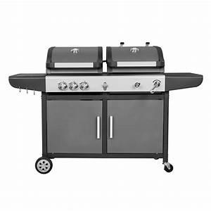 Barbecue Gaz Et Charbon : grill a gaz amazing barbecue a gaz grillmaster maxi basic ~ Dailycaller-alerts.com Idées de Décoration